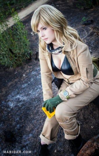 Косплей Maridah на EVA из Metal Gear Solid 3. Фото № 17
