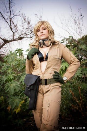 Косплей Maridah на EVA из Metal Gear Solid 3. Фото № 22