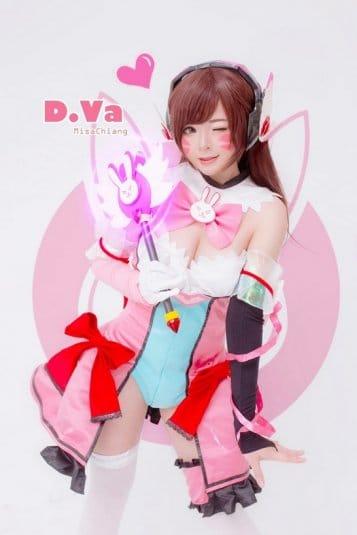 Misa Chiang cosplay Overwatch D.Va #6