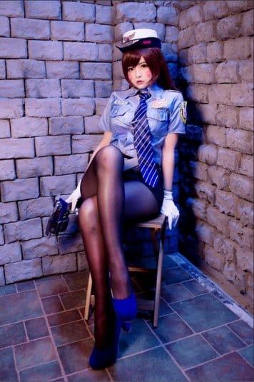 Misa Chiang cosplay Overwatch D.Va #11