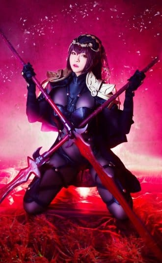Misa Chiang cosplay Scathach № 4