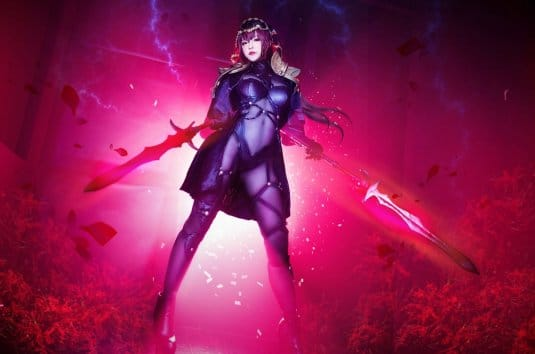 Misa Chiang cosplay Scathach № 5