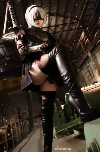 Misa Chiang cosplay Nier Automata № 6