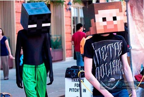 7. Герои из Minecraft