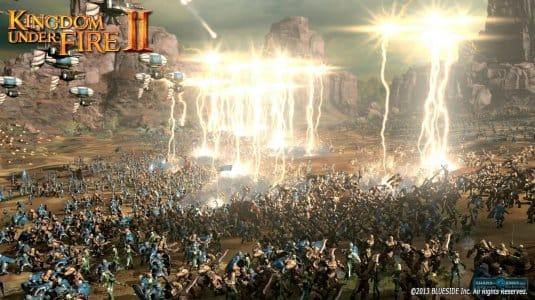 Битва в Kingdom Under Fire 2