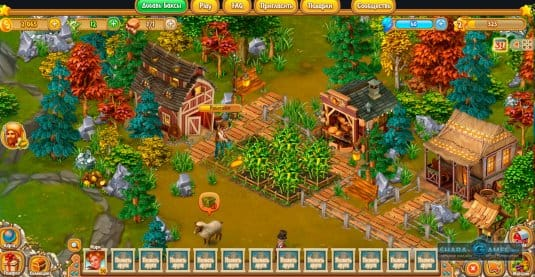 Ферма в игре Золотой Рубеж