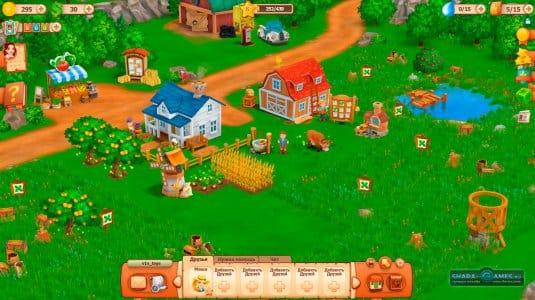 Ферма в игре Фермерские деньки