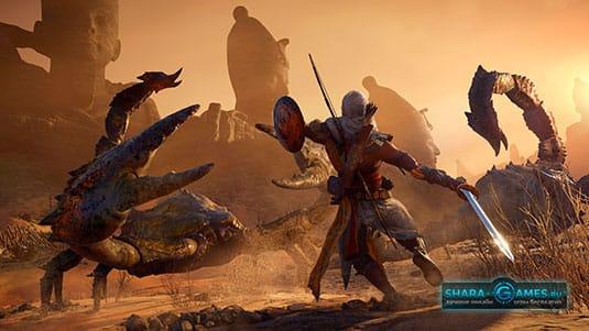 Битва в Assassin's Creed: Истоки
