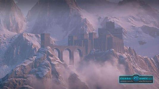 Заснеженные пейзажи в Dragon Age: Inquisition