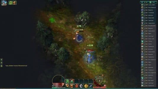 Сражение в игре Prime Arena