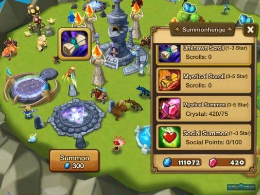 Игровой процесс в Summoners' War