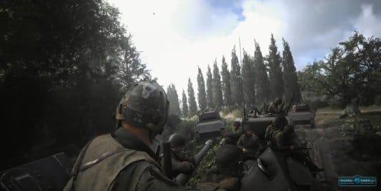 Call of Duty: WWII —выполняя миссию