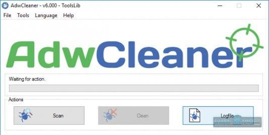 Примените антивирус и сканер AdwCleaner