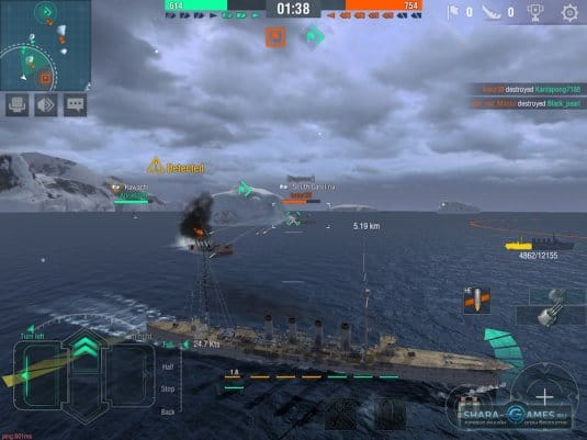 Геймплей World of Warships Blitz