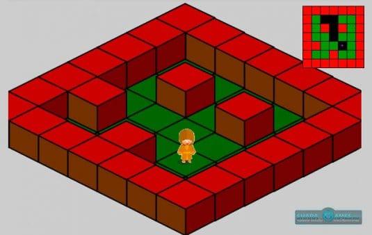 Вот как выглядит любая изометрическая игра